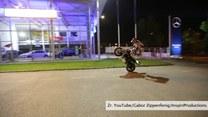Czarodziej motocykla w akcji!