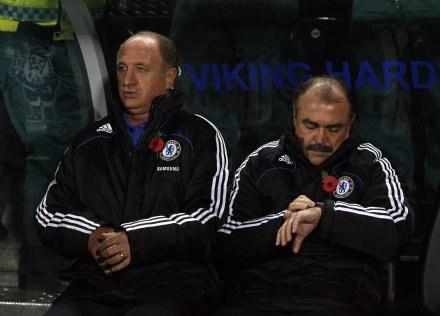 Czas Scolariego w Chelsea dobiega końca? /AFP