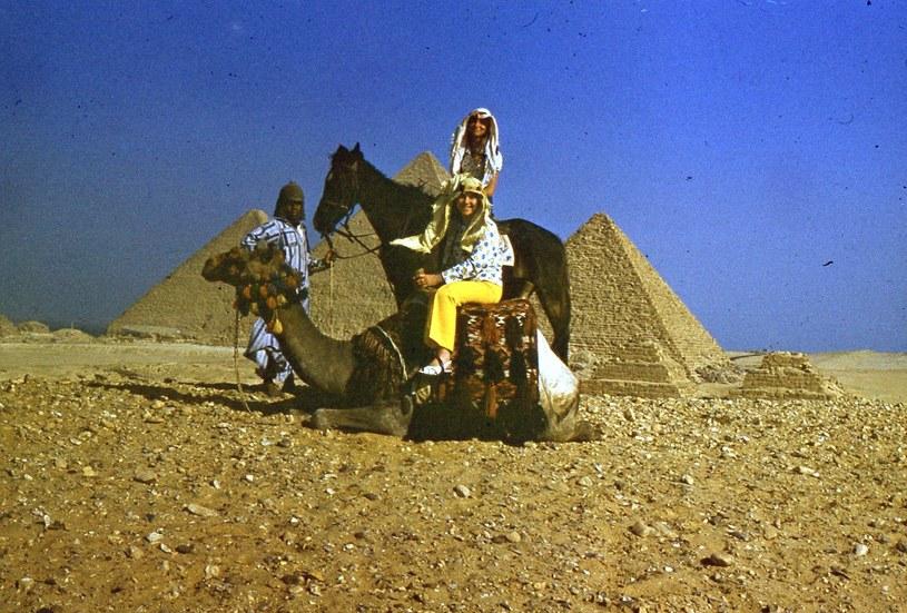 Czas wolny w Egipcie, lata 70-te /archiwum prywatne Małgorzaty Nowotnik /materiały prasowe