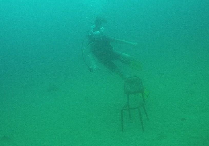 Czasem jedynym ciekawym znaleziskiem okazuje się być krzesło /archiwum prywatne