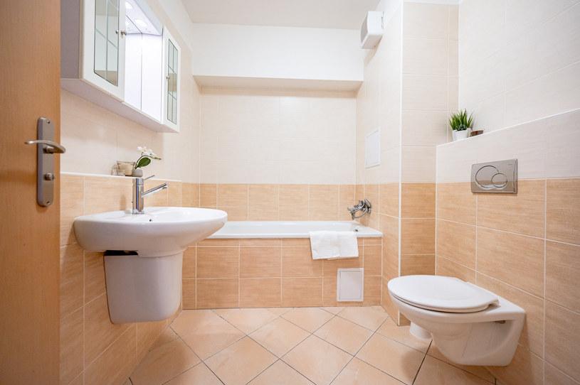 Czasem nawet w czystej łazience, zapach jest nie do wytrzymania /123RF/PICSEL