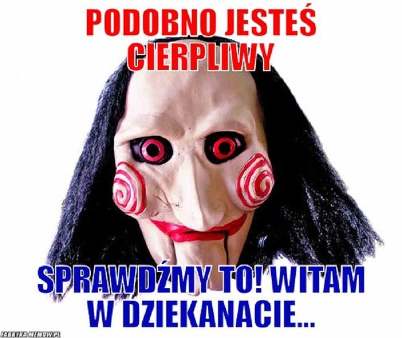 Czasem święty by nie wytrzymał... /fabrykamemów.pl /Internet
