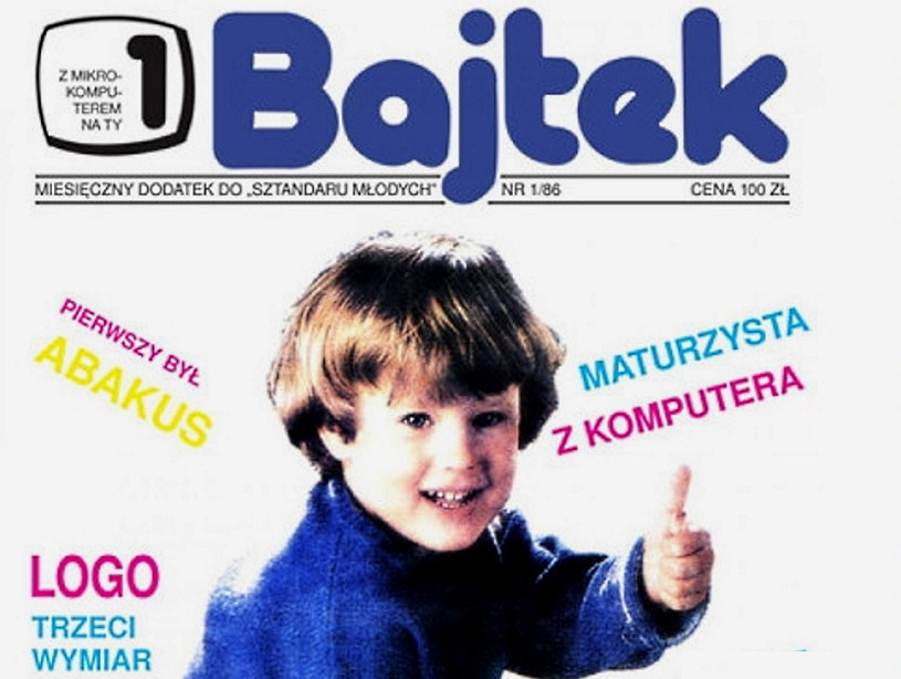 """Czasopismo poświęcone komputerom """"Bajtek"""" jest uznawane za jedną z najbardziej kultowych publikacji przełomu lat 80. i 90. /materiały prasowe"""