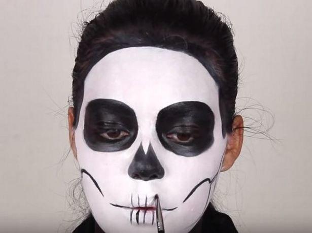 czaszka makijaż /© Photogenica
