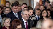 Czechy: Skandal na ślubowaniu prezydenta Zemana
