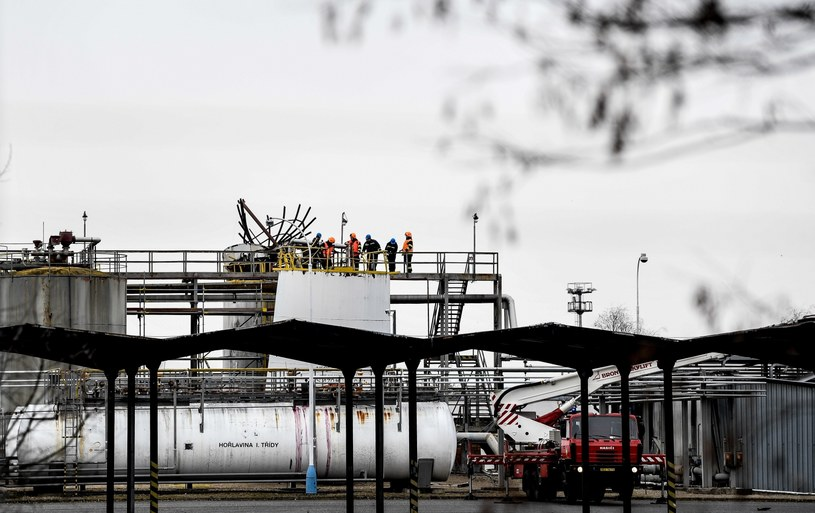 Czechy: Wybuch w rafinerii /FILIP SINGER /PAP/EPA