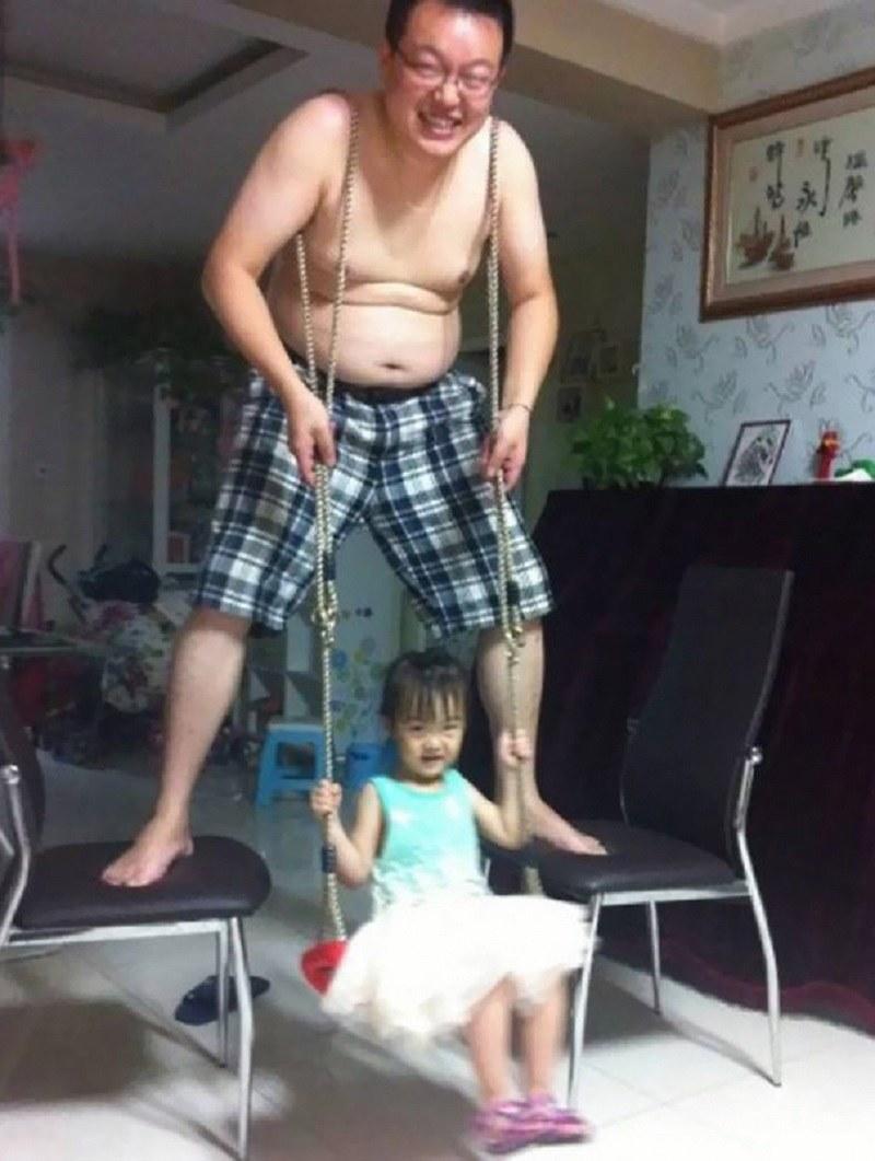Czego nie robi się dla swojego dziecka? /imgur.com