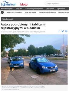 Czegoś takiego jeszcz nie było. W Gdańsku sklonowali Volkswagena!