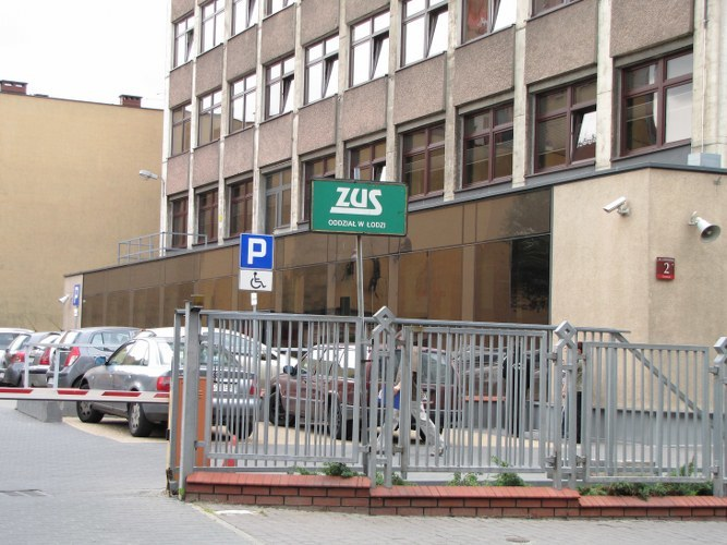 Czekająca na remont siedziba ZUS-u /Agnieszka Wyderka /RMF FM