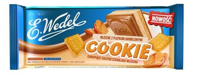 Czekolada Wedel Cookie /materiały prasowe
