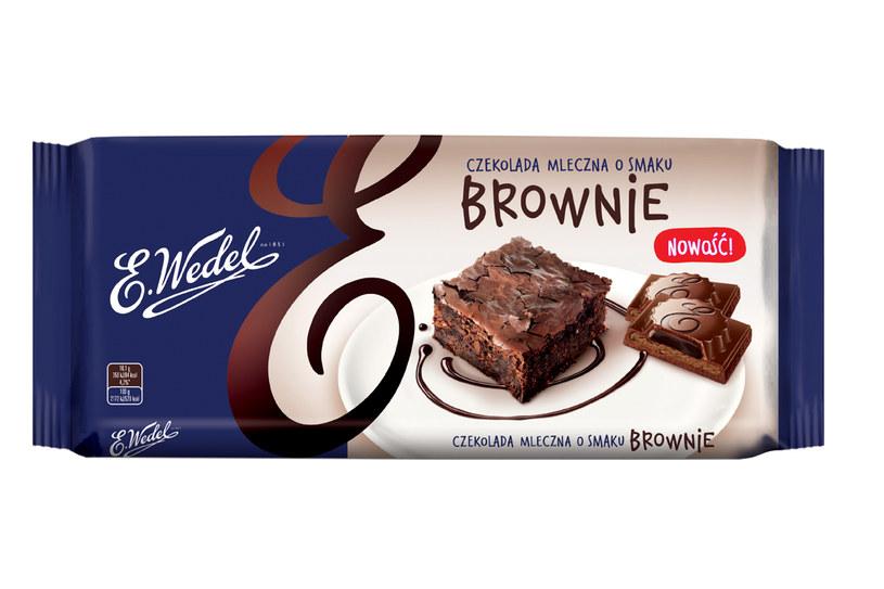 Czekolada z nadzieniem o smaku brownie /materiały prasowe