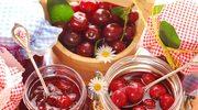 Czereśnie i wiśnie w czerwonym winie