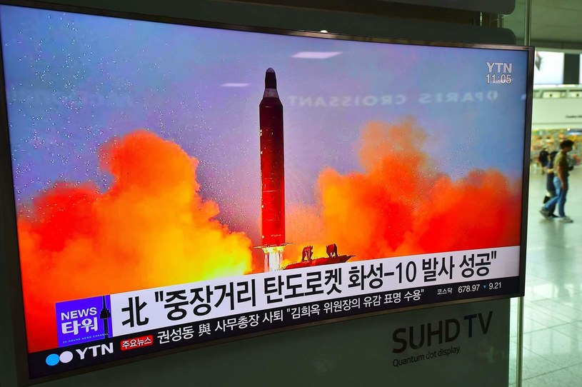 Czerwcowa próba wystrzelenia rakiety Musudan, zdjęcie ilustracyjne /AFP
