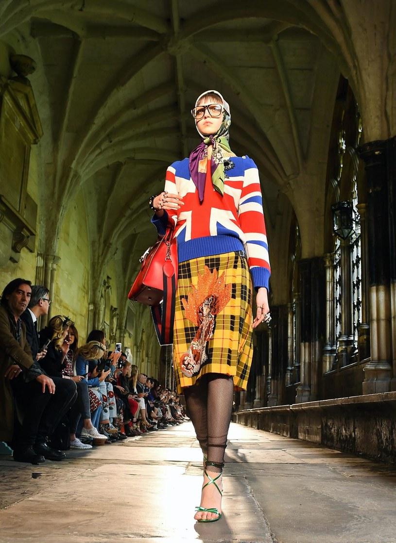Czerwcowy pokaz Gucci w Londynie /PAP life