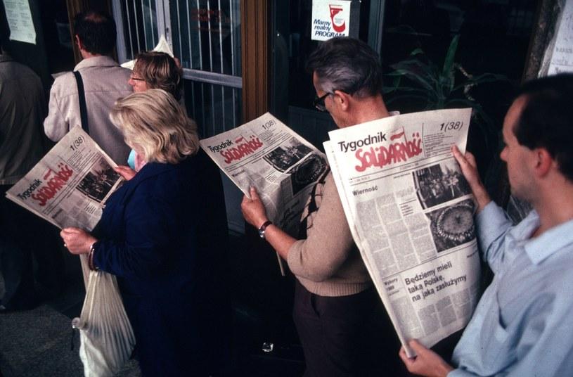 Czerwiec 1989 r. /Chris Niedenthal /Agencja FORUM