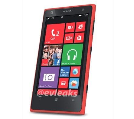 Czerwona Lumia 1020 Fot. evleaks /Komórkomania.pl