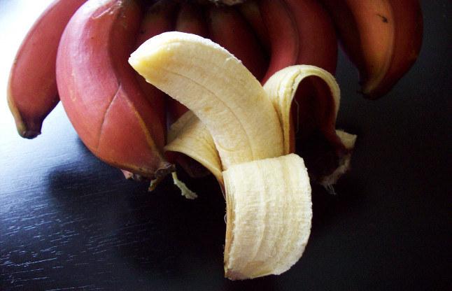 czerwone banany właściwości /© Photogenica