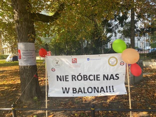 Czerwone Miasteczko w Warszawie /Magdalena Grajnert /RMF FM