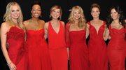 Czerwone sukienki przyciągają facetów
