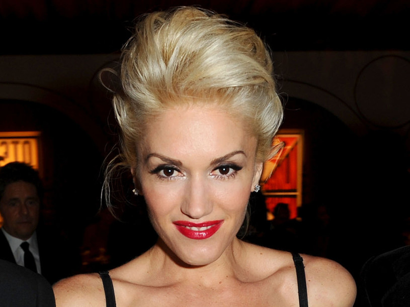 Czerwone usta to znak firmowy Gwen Stefani  /Getty Images/Flash Press Media