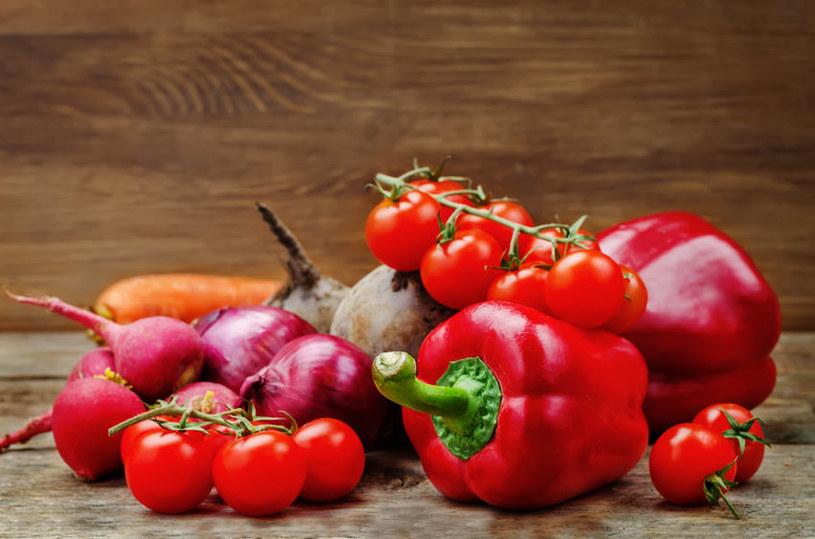 Czerwone warzywa bardzo dobrze wpływają na serce /123RF/PICSEL