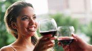 Czerwone wino nie do ryby