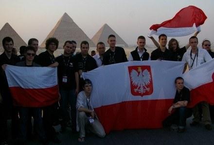 Częś polskiego zespołu studentów - minuty przed rozpoczęciem ceremoni zamknięcia /INTERIA.PL