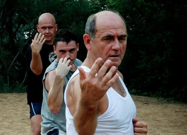 Część ekipy trenuje w Shaolin, a część przygotowuje spektakl w Krakowie, fot. Dawid Kozłowski /Łaźnia Nowa