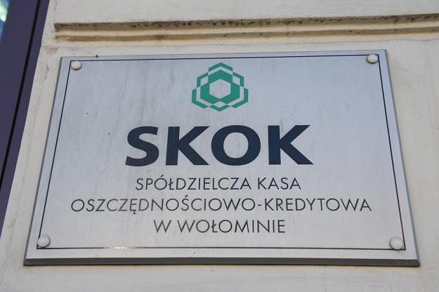 Część klientów SKOK Wołomin bez pieniędzy... Fot. B. Waledziak /Reporter