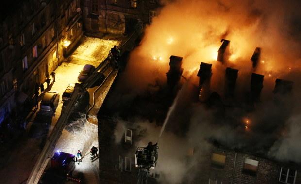 Część mieszkańców wróciła do domów po ogromnym pożarze w stolicy