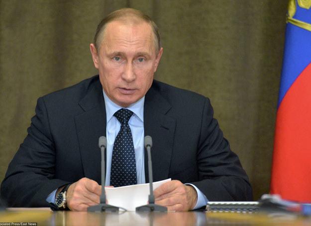Część Syryjczyków popiera rosyjską interwencje  ich kraju / Na zdjęciu Władimir Putin /AP/FOTOLINK /East News