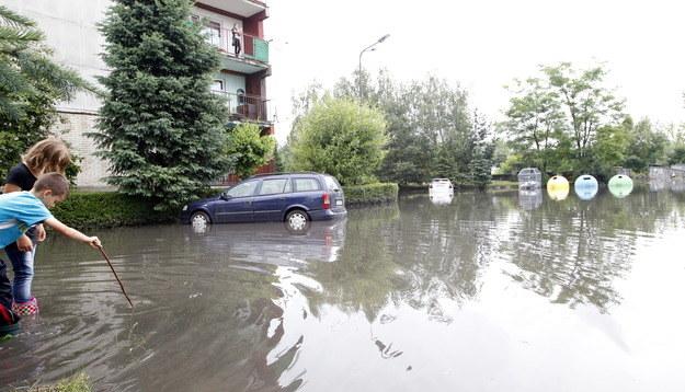 Część woj. Śląskiego została zalana /A. Grygiel /PAP