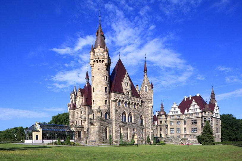 Część zamku wyznaczona była dla kuracjuszy ośrodka leczenia nerwic, reszta dla zwiedzających /Marek Maruszak /Agencja FORUM