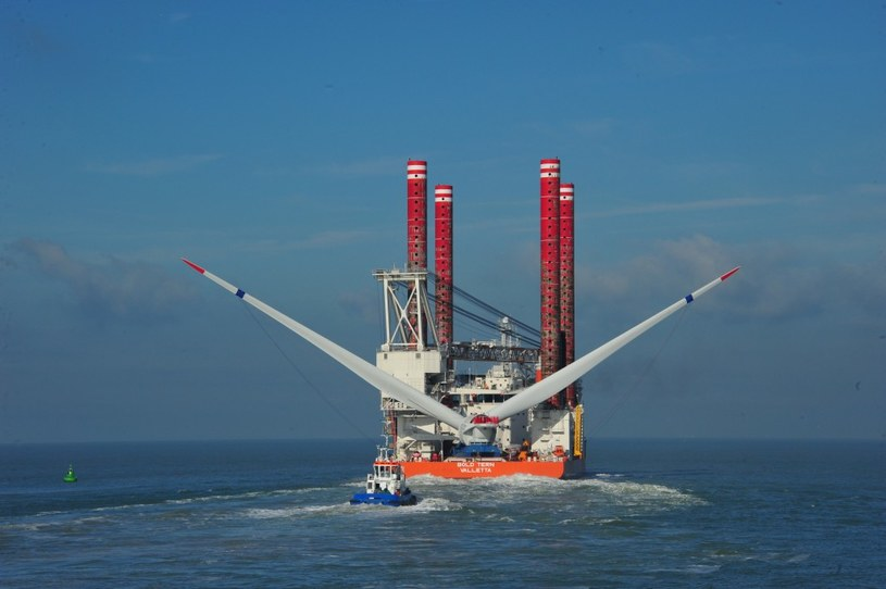 Częsci turbiny Haliade podczas transportu /materiały prasowe