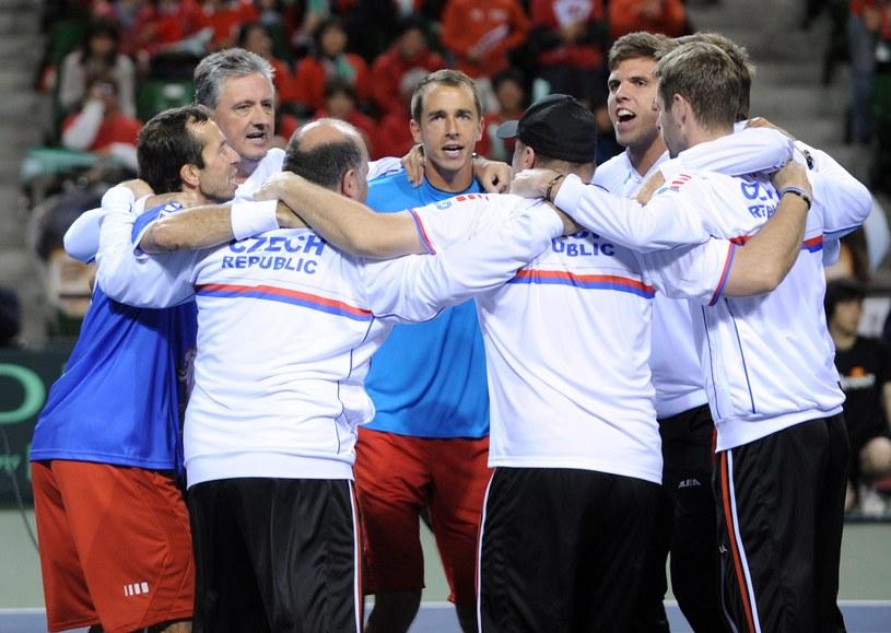 Czesi świętują awans do półfinału /AFP