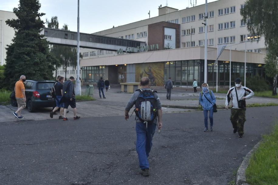 Czesi wstrzymują wydobycie w kopalniach z powodu koronawirusa /Jaroslav Ozana/CTK /PAP/CTK