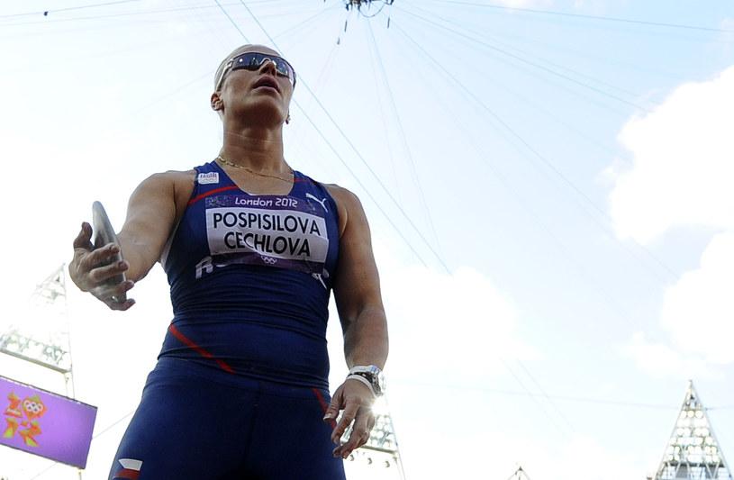 Czeska dyskobolka Vera Pospisilova-Cechlova /AFP