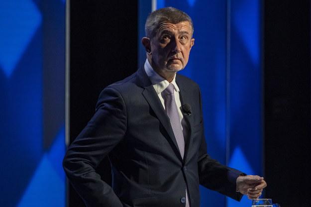 Czeski premier Andrej Babisz odrzuca oskarżenia /Martin Divisek /PAP/EPA