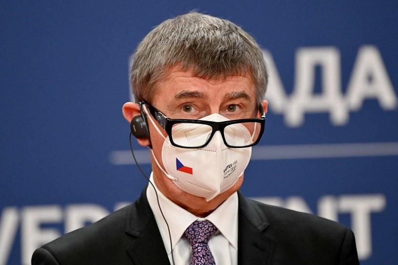 Czeski premier Andrej Babisz /AFP