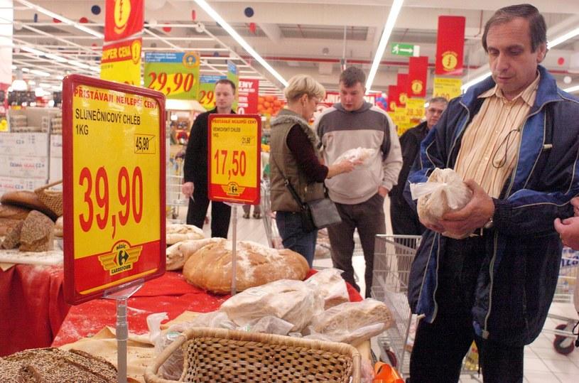 Czeski supermarket (arch.) /Martin Mraz/Spectrum Pictures /Reporter
