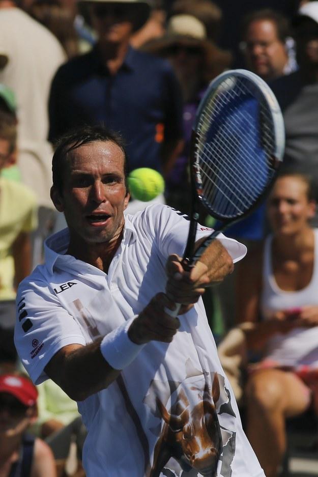 Czeski tenisista Radek Stepanek /AFP