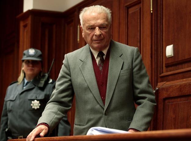 Czesław Kiszczak, fot. T. Gzell /PAP