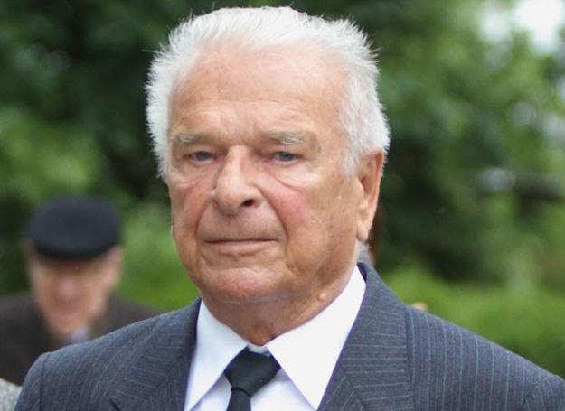 Czeslaw Kiszczak na pogrzebie generała Wojciecha Jaruzelskiego /Stanisław Kowalczuk /East News