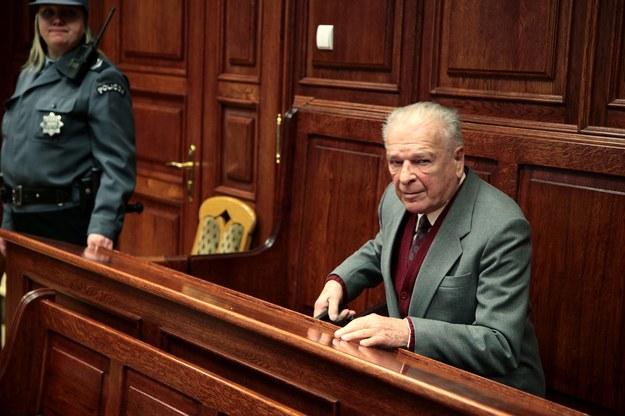 Czesław Kiszczak nie pojawił się w sądzie, zdj. archiwalne /Tomasz Gzell /PAP