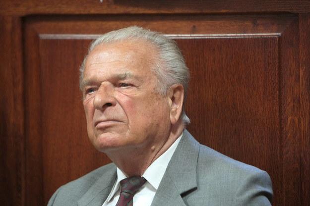 Czesław Kiszczak /Leszek Szymański /PAP
