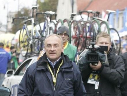 Czesław Lang już myśli o następnym Tour de Pologne / for. Jerzy Kleszcz /Agencja Przegląd Sportowy