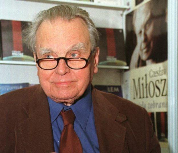 Czesław Miłosz, fot. Krzysztof Żuczkowski /Agencja FORUM