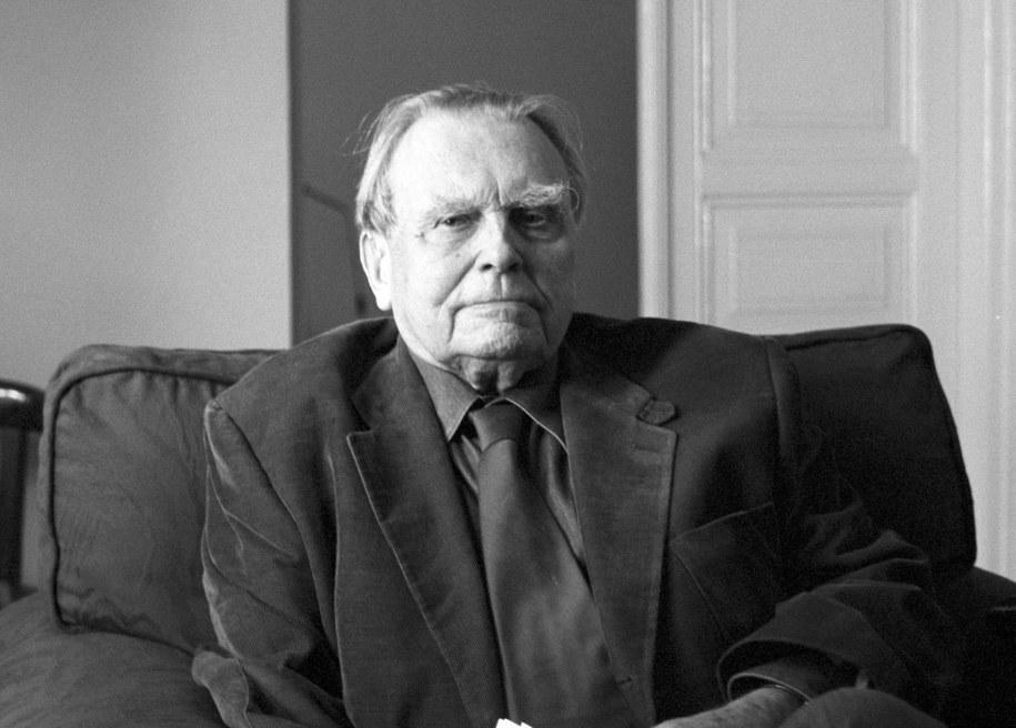 Czesław Miłosz /Ryszard Kornecki /TVP/PAP