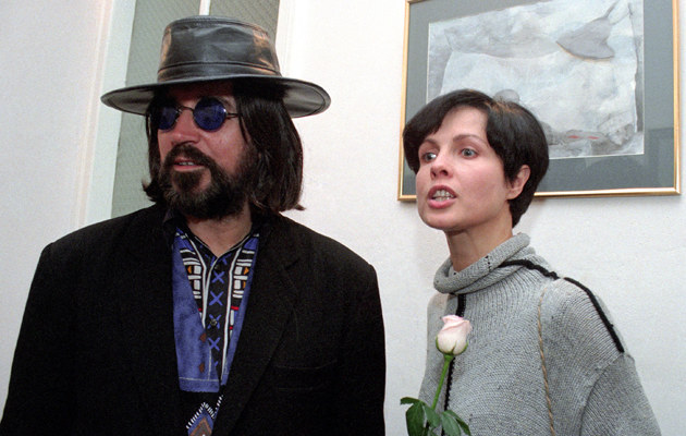Czesław Niemen z żoną Małgorzatą /Radosław Nawrocki /Agencja FORUM