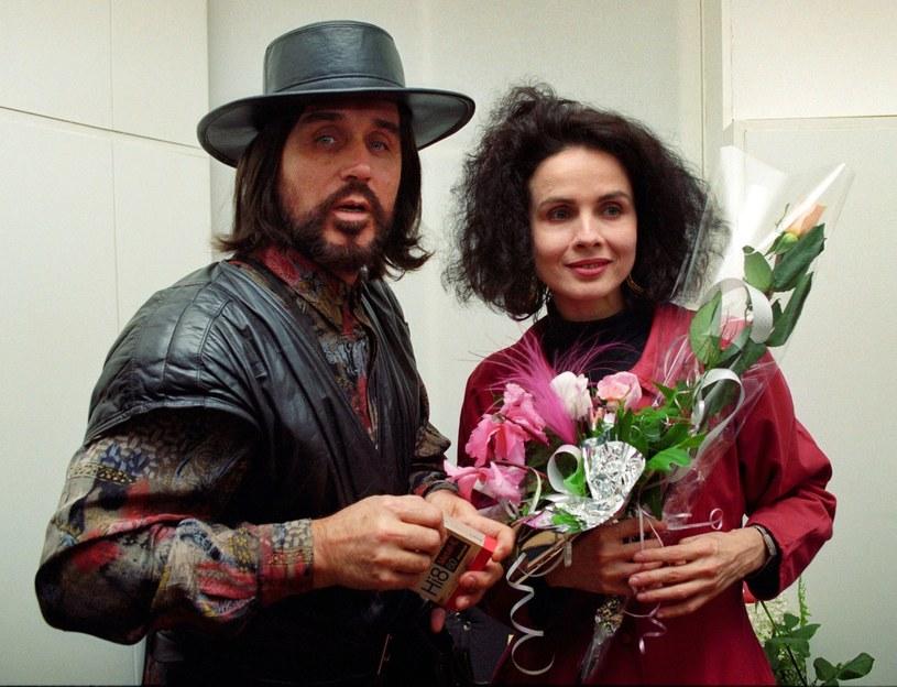 Czesław Niemen z żoną Małgorzatą /- /East News